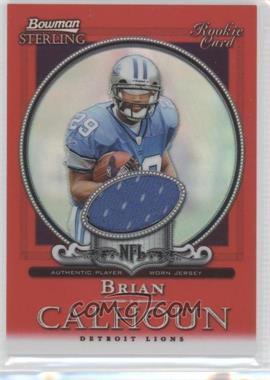 2006 Bowman Sterling - [Base] - Red Refractor #BC - Brian Calhoun /1