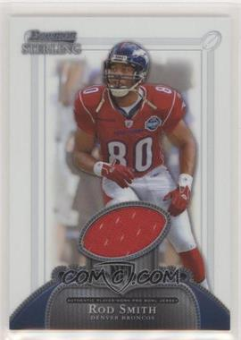 2006 Bowman Sterling - Base Relics #BS-RS - Rod Smith [Noted]