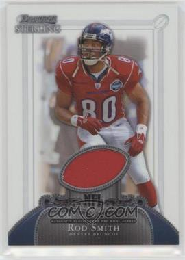 2006 Bowman Sterling - Base Relics #BS-RS - Rod Smith