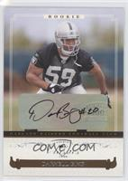 Autographed Rookies - Darnell Bing /999