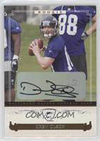 Autographed Rookies - Drew Olson /999