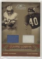 Barry Sanders, Gale Sayers #/207