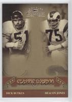 Deacon Jones, Dick Butkus /250