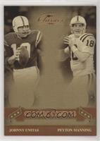 Johnny Unitas, Peyton Manning #/500