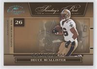 Deuce McAllister #/25