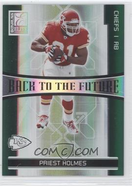 2006 Donruss Elite - Back to the Future - Green #BTF-22 - Larry Johnson, Priest Holmes /1000