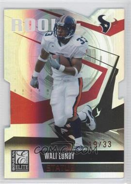 2006 Donruss Elite - [Base] - Status Red Die-Cut #222 - Wali Lundy /33