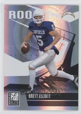 2006 Donruss Elite - [Base] #117 - Brett Elliott /599