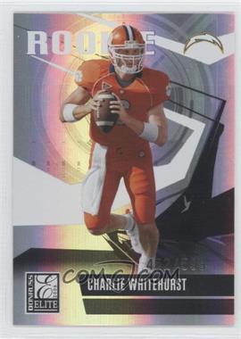 2006 Donruss Elite - [Base] #126 - Charlie Whitehurst /599