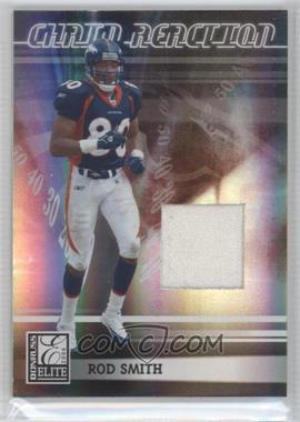 2006 Donruss Elite - Chain Reaction - Jerseys [Memorabilia] #CR-14 - Rod Smith /299