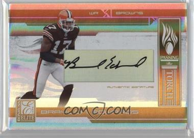 2006 Donruss Elite - Passing the Torch - Gold Signatures [Autographed] #PT-22 - Braylon Edwards, Paul Warfield /49