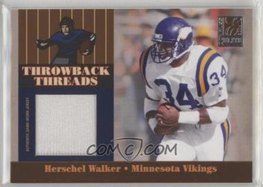pretty nice f49cc bec81 2006 Donruss Elite - Throwback Threads #TT-29 - Herschel ...