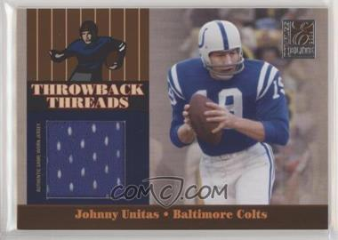 san francisco 7dfaa a838c 2006 Donruss Elite - Throwback Threads #TT-31 - Johnny ...