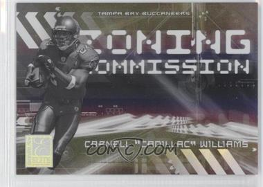 2006 Donruss Elite - Zoning Commission - Black #ZC-33 - Cadillac Williams /500