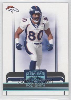 2006 Donruss Gridiron Gear - [Base] - Platinum #33 - Rod Smith /50