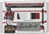 Jerious Norwood #/50