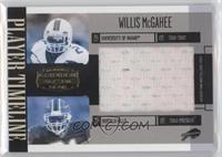 Willis McGahee #/20