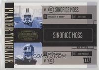 Sinorice Moss #/500