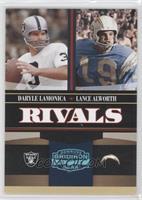 Lance Alworth, Daryle Lamonica /25