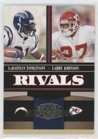 Larry Johnson, LaDainian Tomlinson #/500