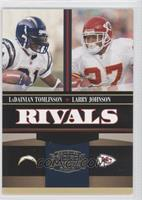 Larry Johnson, LaDainian Tomlinson #/500