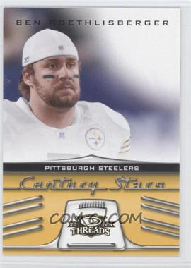 2006 Donruss Threads - Century Stars #CS-2 - Ben Roethlisberger