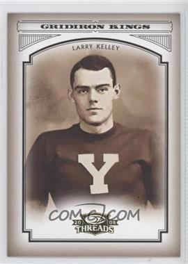 2006 Donruss Threads - College Gridiron Kings #CGK-40 - Larry Kelley