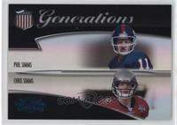 Phil Simms, Chris Simms #/100