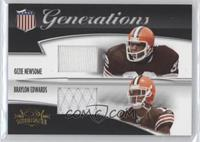 Ozzie Newsome, Braylon Edwards #/250