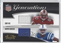 Jerry Rice, Marvin Harrison /250
