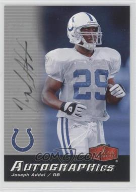 2006 Flair Showcase - Autographics #AU-JA - Joseph Addai