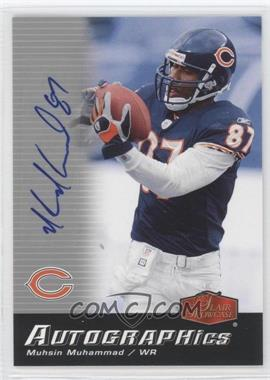 2006 Flair Showcase - Autographics #AU-MU - Muhsin Muhammad