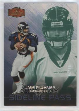 2006 Flair Showcase - [Base] - Legacy Emerald #246 - Jake Plummer /25