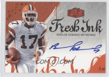 2006 Flair Showcase - Fresh Ink #FI-BE - Braylon Edwards
