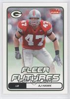 Fleer Futures - AJ Hawk