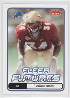 Fleer Futures - Ernie Sims
