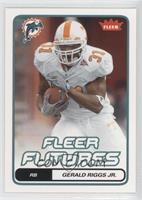 Fleer Futures - Gerald Riggs Jr.