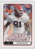 Fleer Futures - Leonard Pope