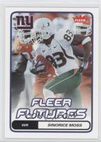 Fleer Futures - Sinorice Moss