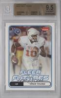 Fleer Futures - Vince Young [BGS 9.5 GEM MINT]