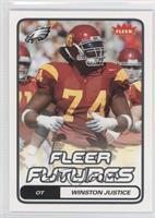 Fleer Futures - Winston Justice