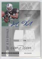 HP Auto Rookie Materials - Michael Huff #/999
