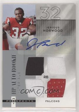 2006 Fleer Hot Prospects - [Base] #218 - HP Auto Rookie Materials - Jerious Norwood /999
