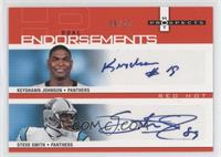Keyshawn Johnson, Steve Smith /10
