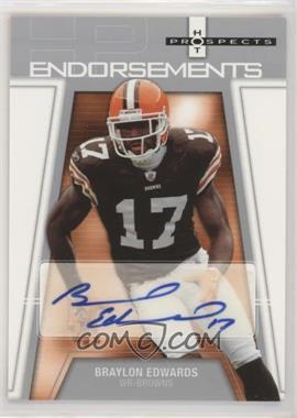 2006 Fleer Hot Prospects - Endorsements #HP-BE - Braylon Edwards