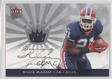 2006 Fleer Ultra - Scoring Kings - Jersey [Memorabilia] #SK-WM - Willis McGahee