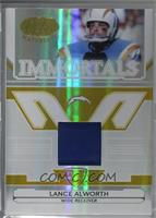 Lance Alworth [Noted] #/25