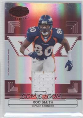 2006 Leaf Certified Materials - [Base] - Mirror Red Materials [Memorabilia] #45 - Rod Smith /150