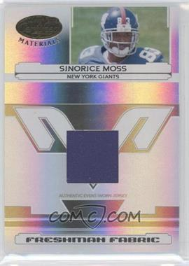 2006 Leaf Certified Materials - [Base] #222 - Sinorice Moss /1400