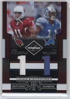 Larry Fitzgerald, Roy Williams /100